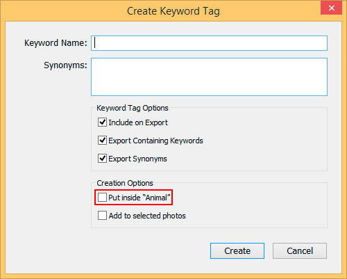 lr-create-sub-keyword-tag-dialog-box
