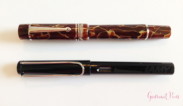 Review Delta Stantuffo Marmo Incrinato LE Fountain Pen @ChatterleyLux (2)