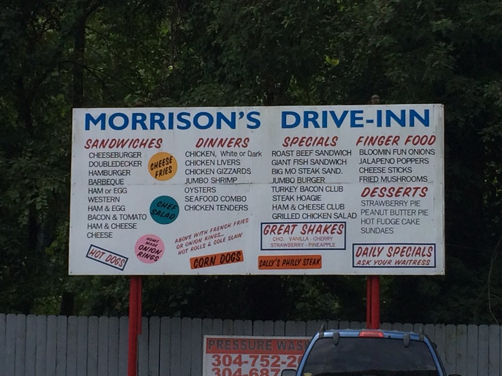 Morrisons drive in
