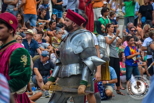 Paleo Parade Siena Tuscany