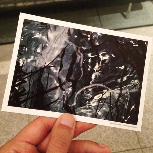 今回の展示は、リズ・イングラムさんの版画展。