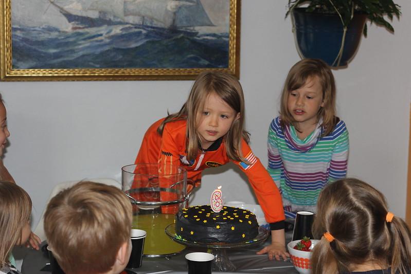 Cordelia's 6th birthday