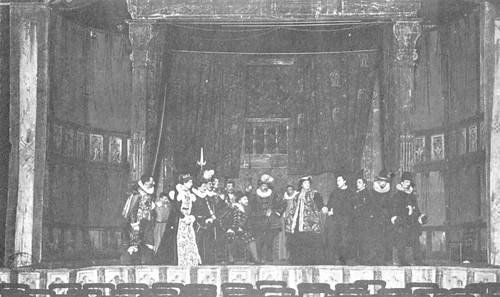 St Georges Hall - Hamlet performance
