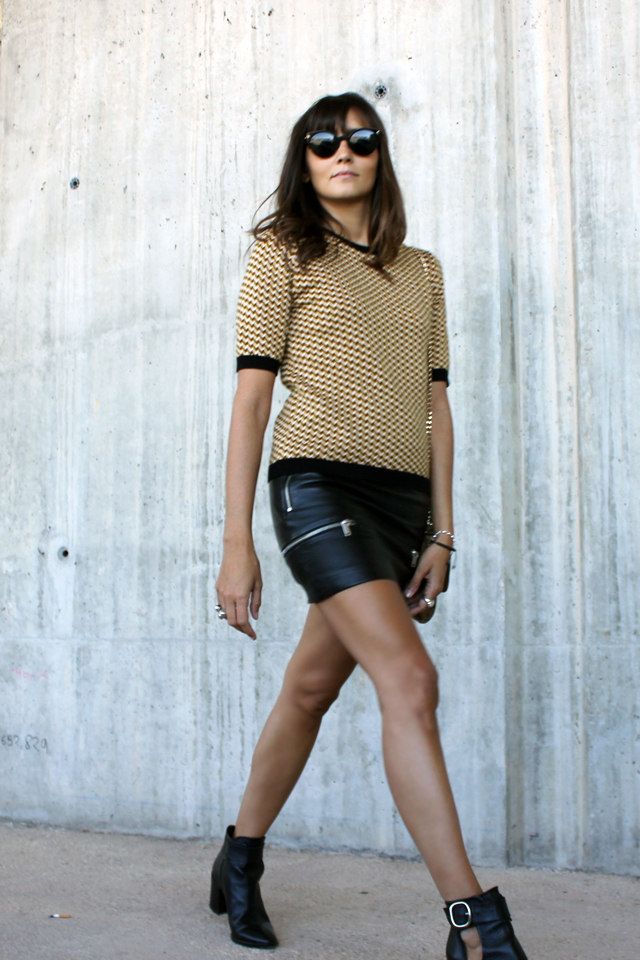 leather skirt coohuco 1