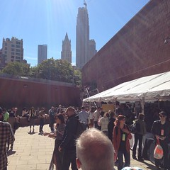 Gorgeous day for an outdoor break at #bnconf