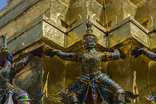 Image of Grand Royal Palace. old travel roof summer sky building tower art history tourism beautiful statue architecture tile asian thailand temple gold pagoda ancient shiny asia exterior place bangkok buddha stupa traditional famous religion decoration large culture royal buddhism grand nobody landmark palace east monastery national journey grandpalace thai demon spirituality traveling ornate majestic luxury cloudscape indochina destinations travelphotography thegrandpalace traveltimes