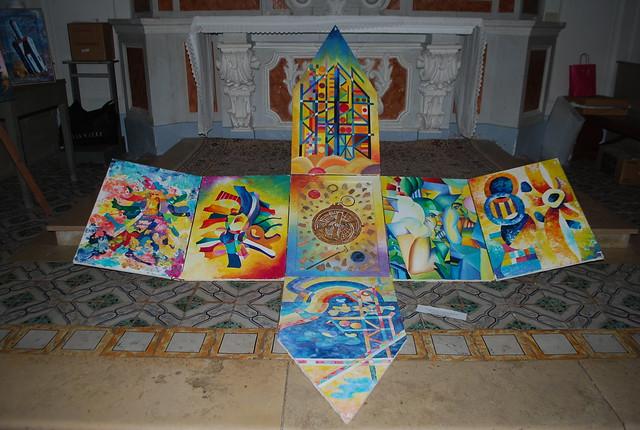 Rutigliano-L'arte condivisa in Cortile Castello (7)