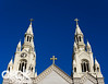 Spires of Saints Peter and Paul Church by Cl!ck Images