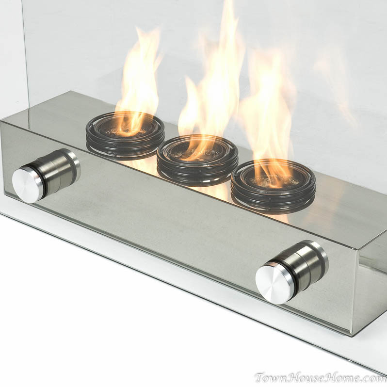 Small gel fireplace
