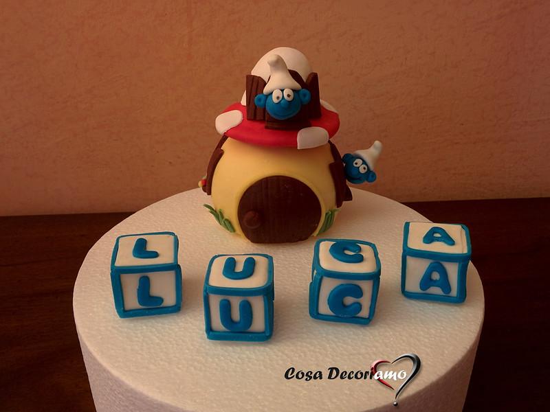 Torte - 130 - Puffi