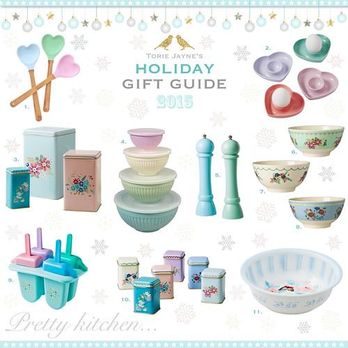 Pretty Kitchen...Gift Guide 2015