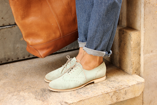 mint oxford shoes coohuco