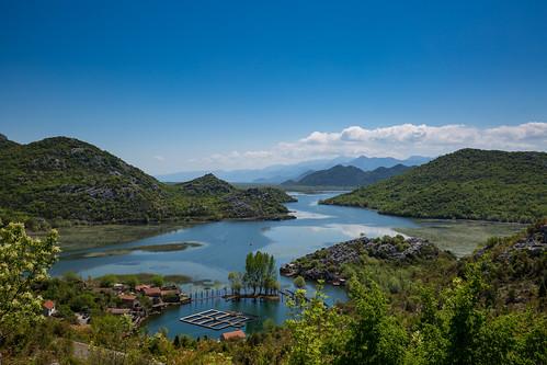 blue water landscape montenegro mne skadarlake karuc calendar2016