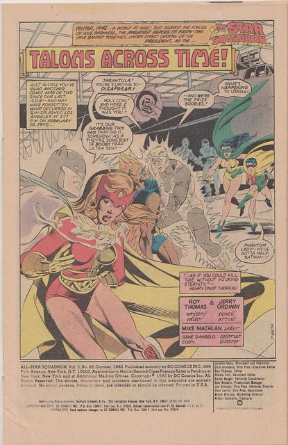 All-Star Squadron 26, Page 1