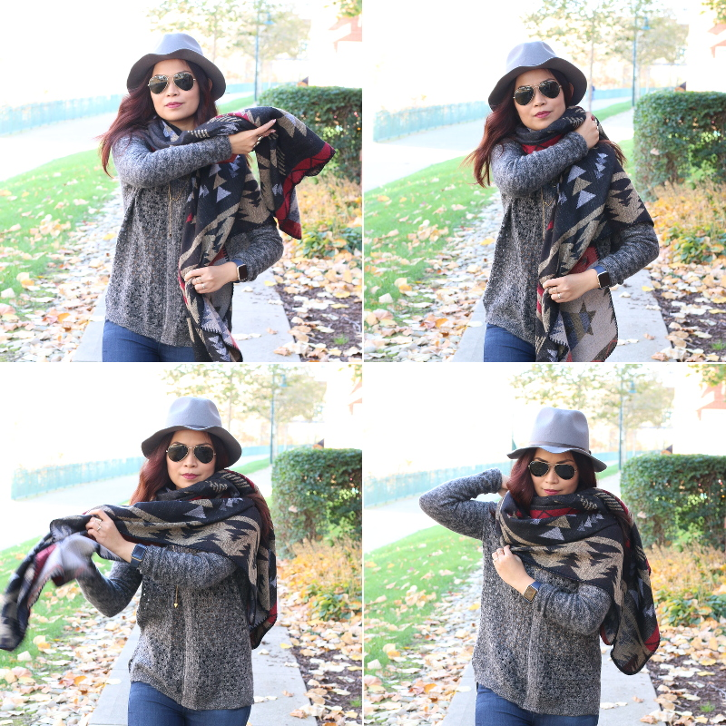 Fall-outfit-use-poncho-infinity-scarf-3