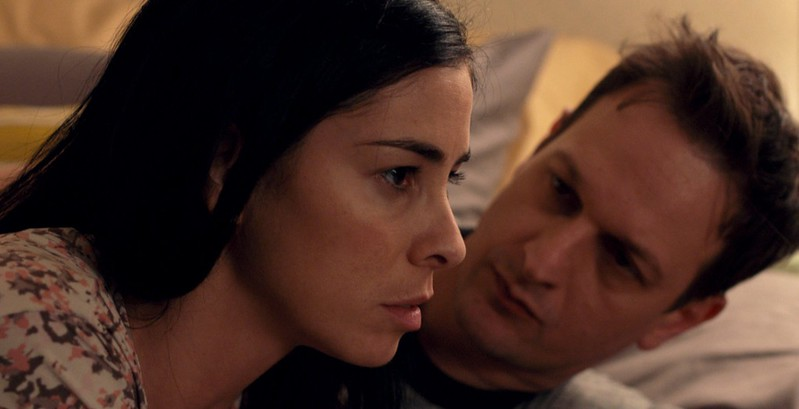 Sarah Silverman and Josh Charles deal with depression and addiction in I SMILE BACK.