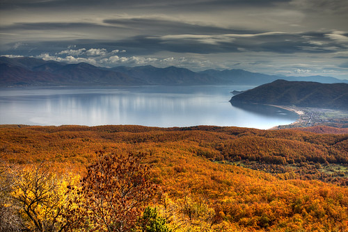 autumn lake macedonia fyrom prespa македонија πρέσπα преспа