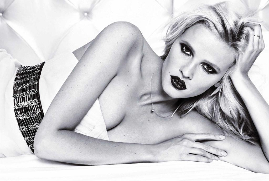 Лара Стоун — Фотосессия для «Glamour» ES 2015 – 1