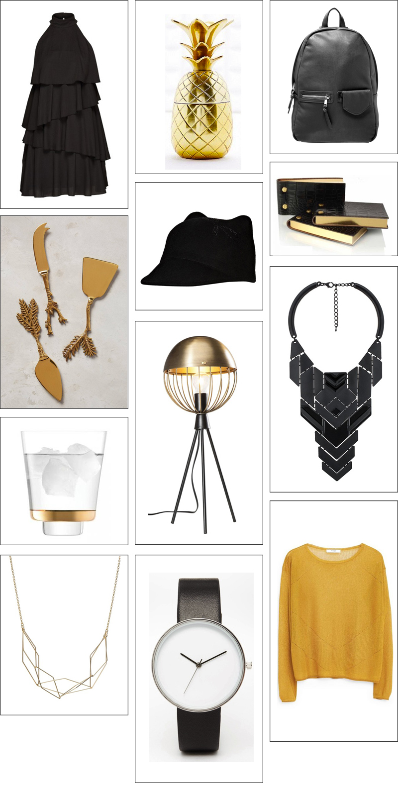 Christmas Gift Guide with under 50 items from fashion to jewelry and home decor