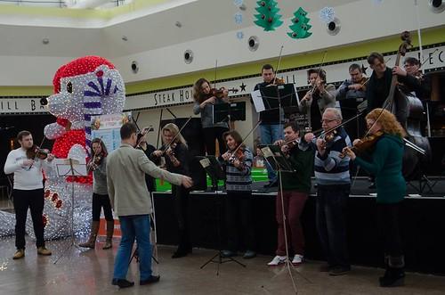 Оркестрова музика у торговому центрі