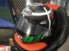 Noriyuki Haga's helmet