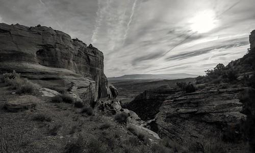 colorado coloradonationalmonument clouds rockformations nationalmonument nationalparkgeek findyourpark