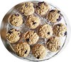Blueberry Oatmeal Banana Muffins