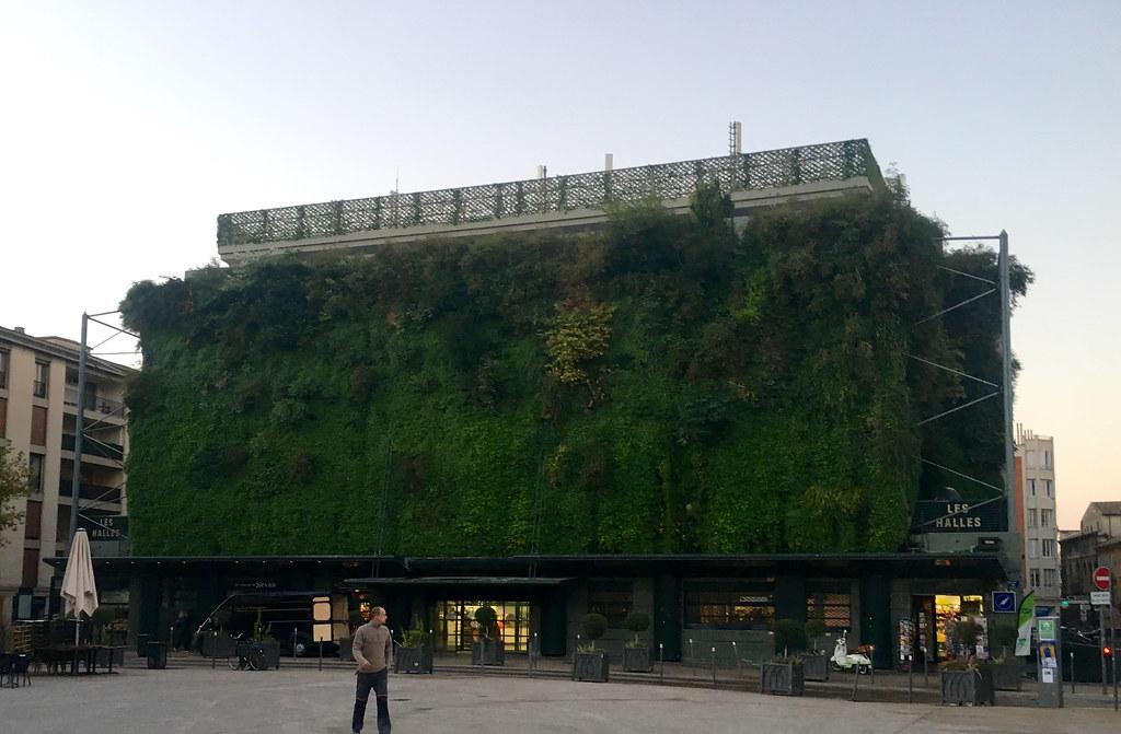 Exteriör Les Halles i Avignon