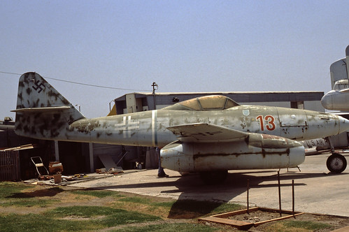 Messerschmitt Me262 at the Planes of Fame Museum, 1980