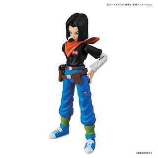 【完整官圖、販售資訊更新】Figure-rise Standard【七龍珠Z:人造人17 號】人造人間17 号
