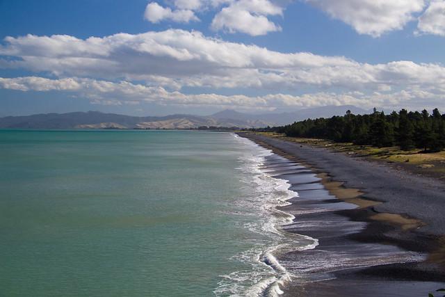 Marlborough coastline