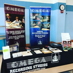 @omegastudios is ready for the #clarksburghighschool College Fair! Stop by to get great info on our School. #omega #studio #school