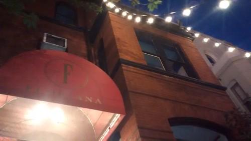 Washington DC Floriana Restaurant Aug 15 1