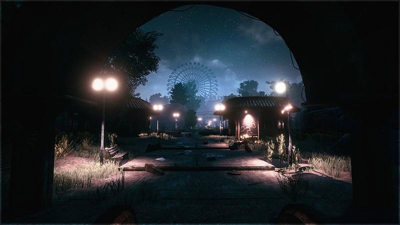 Têm de tudo neste parque – fantasmas são apenas o começo
