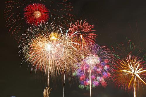 Tokyo-bay Grand Fireworks Festival 2015