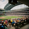 Brewers At Bat by Chad Mauger