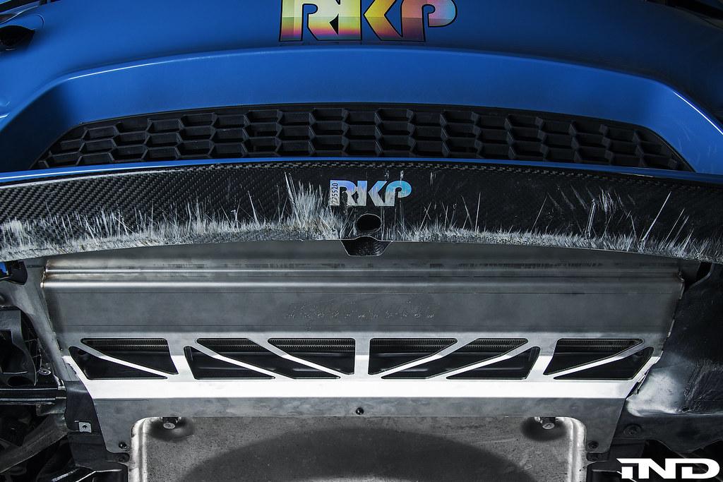 IND | Fall Line Motorsports F8x M3/M4 Oil Cooler Guard - BMW