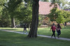 First day of classes on Baldwin campus