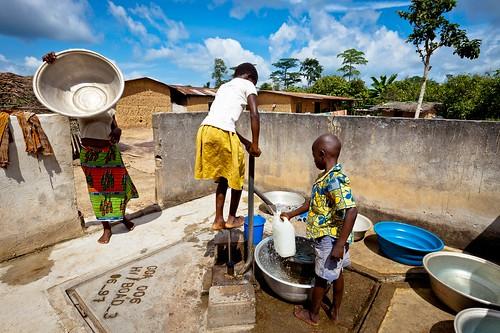 Verbesserung der sanitären Grundversorgung