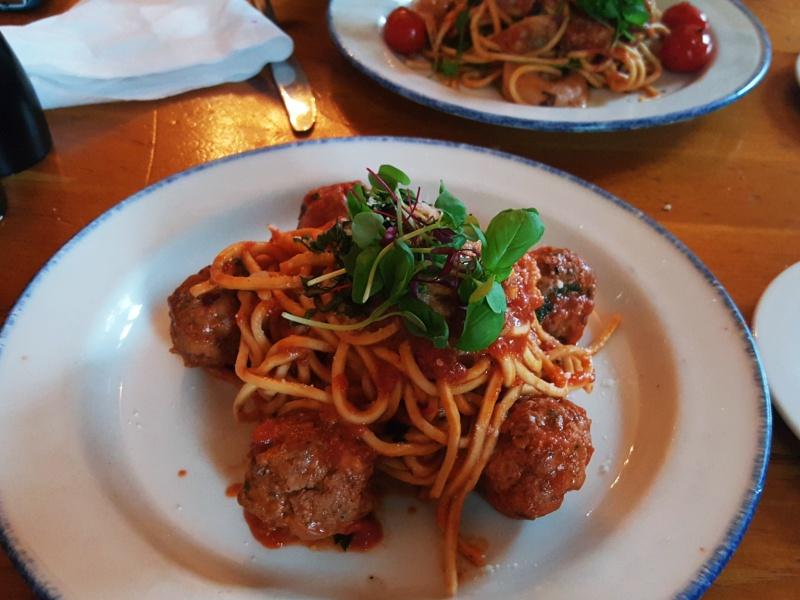 Cafe Nervosa pasta
