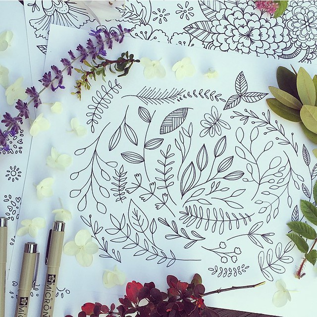 Sketching treasures from our yard is one of my most favorite things to do. These bits and pieces were just the start of an exciting new adventure, I can't wait to share the news soon!!