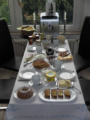 Bergische Kaffeetafel (bei uns daheim)