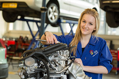 Vehicle Mechanics with Motorsports - Amy Cosford