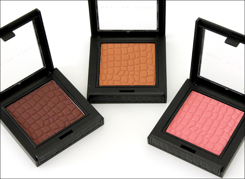 Make up store Haute couture microshadows