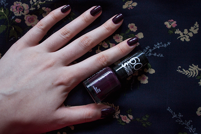 Rimmel Black Cherries Nail Polish