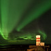 The Green Lights of Gardur Lighthouse by Kristin Repsher
