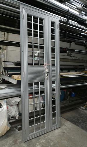 aluminium hdb main gate