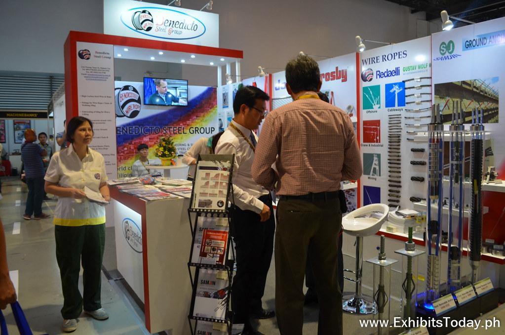 Benedicto Steel Group Exhibit Booth
