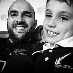#all blacks selfie with the #oik