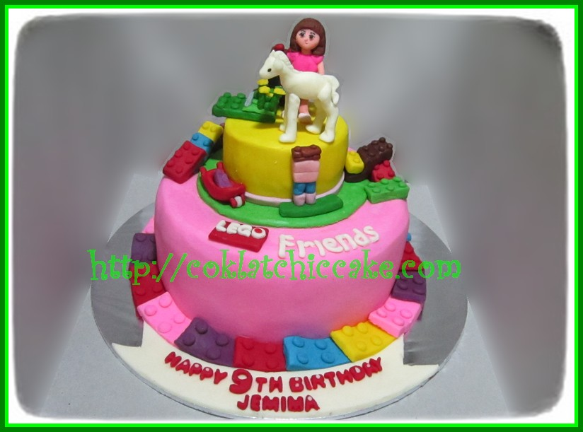 Cake Lego Friends